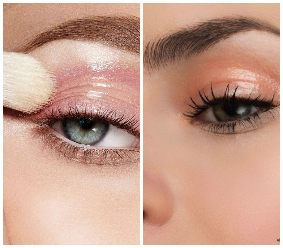 Glossy Eyelids Glossy lids aren't entirely new, but they