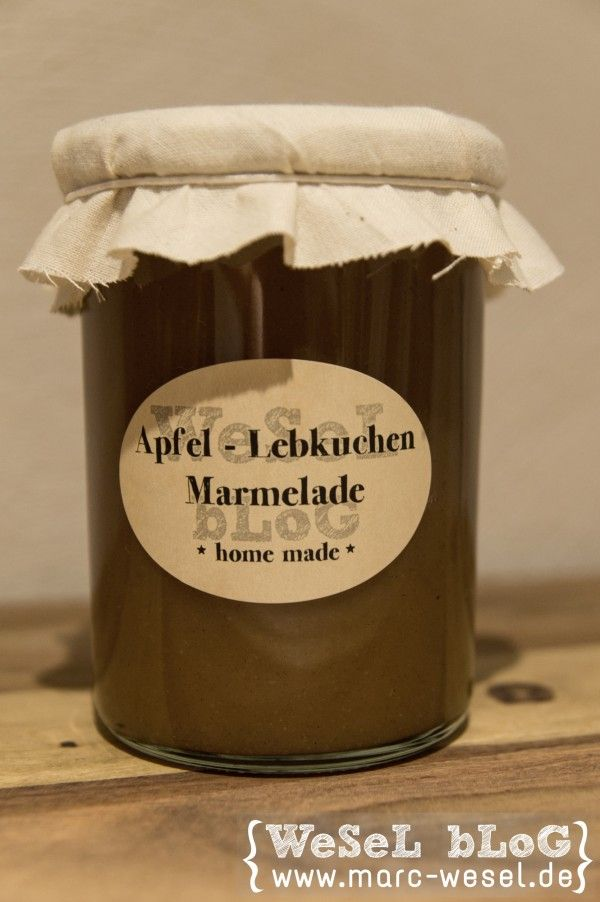 Apfel - Lebkuchen - Marmelade - wesel.blog | DIY - Handlettering - Plotten #Äpfelverwerten