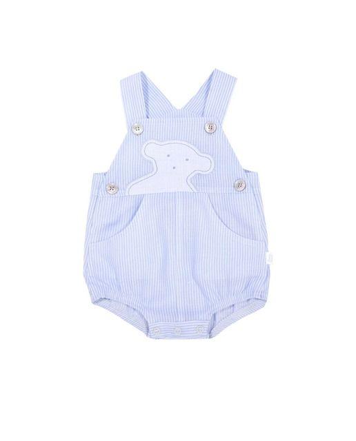 Peto de bebé niño Tous Baby de lino rayado  48108366d5c1