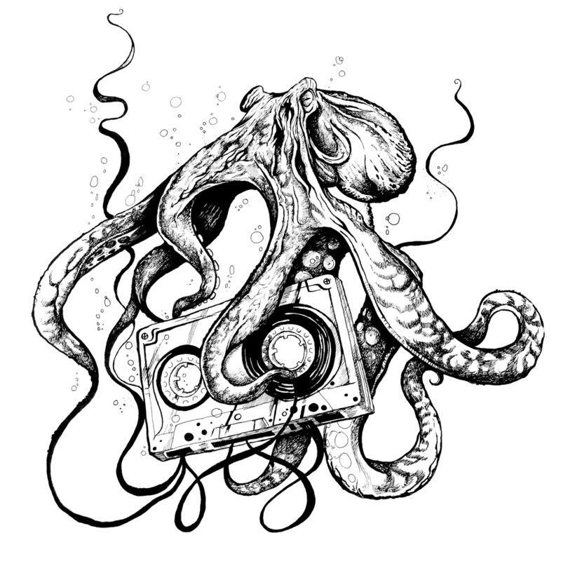 Tumblr Lv7d0npdik1qi95c1o1 1280 Jpg 800 800 Octopus Drawing Octopus Art Drawings