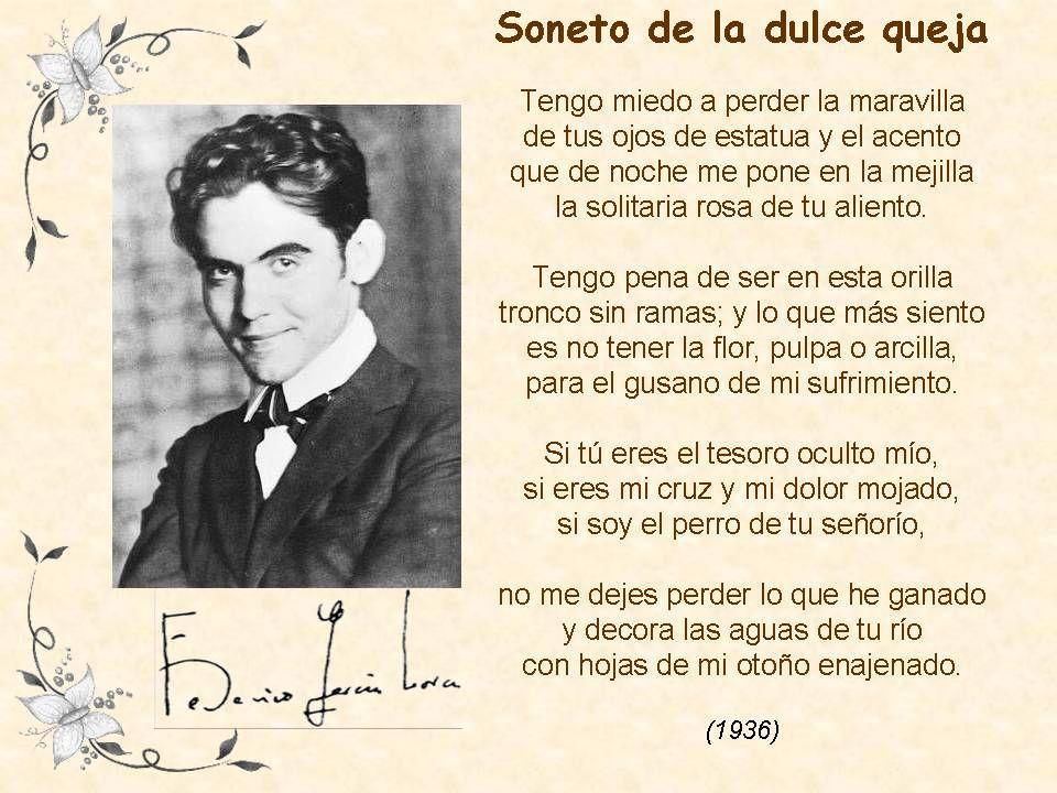 Federico García Lorca Federico Garcia Lorca Poesía Poemas