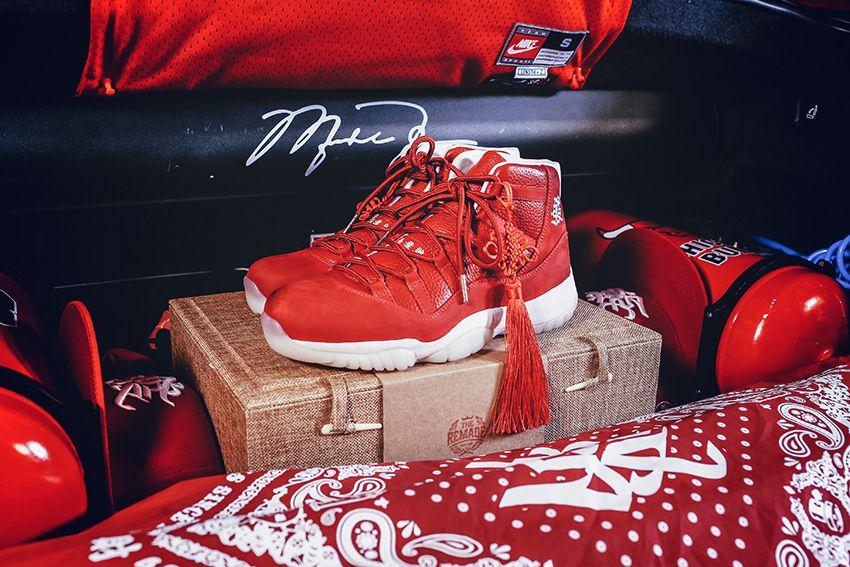 Custom Sneaker // The Remade x 400ml Clothing Air Jordan