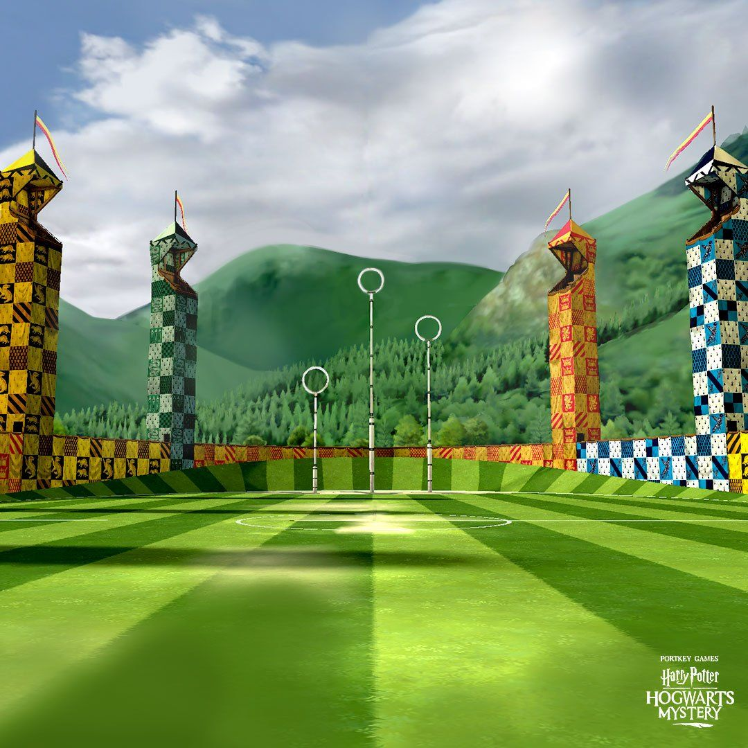 quidditch field drawing Google Search in 2020 Hogwarts