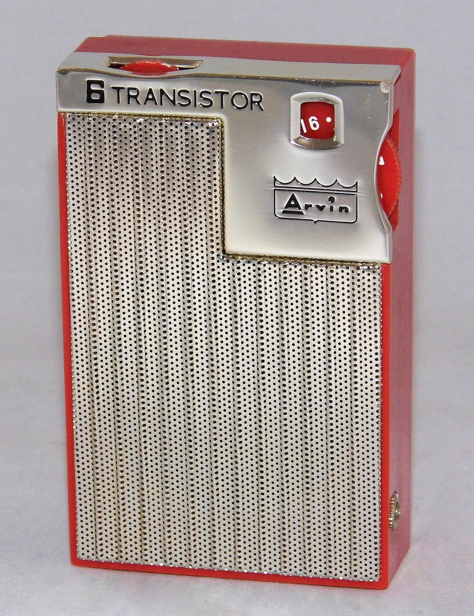 https://flic.kr/p/AHcHYW | Vintage Arvin 6-Transistor AM Radio, Model 64R03, Made In Japan, Circa 1960s