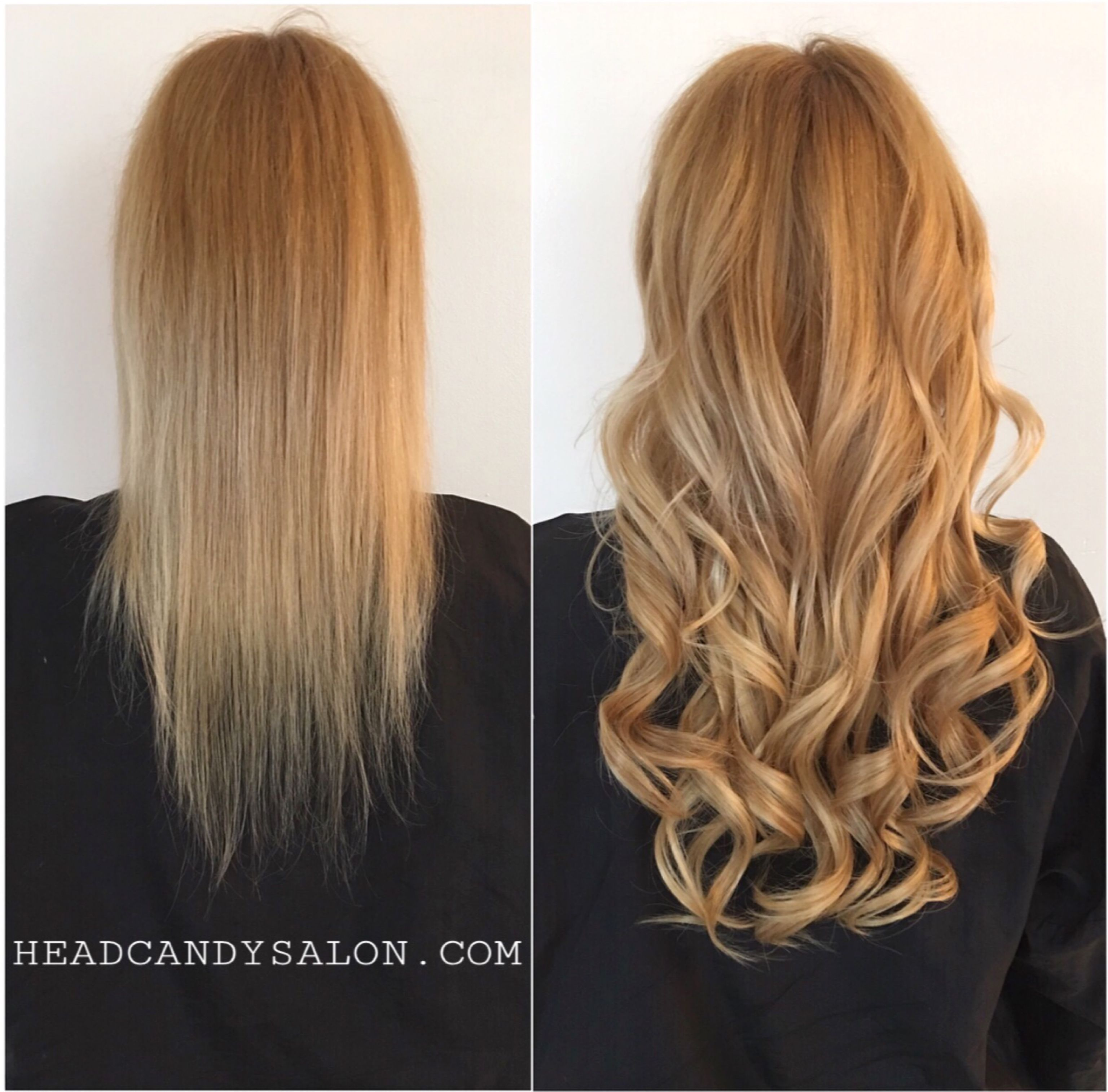 Before After Tape Hair Extensions Beforeandafter Tapehair