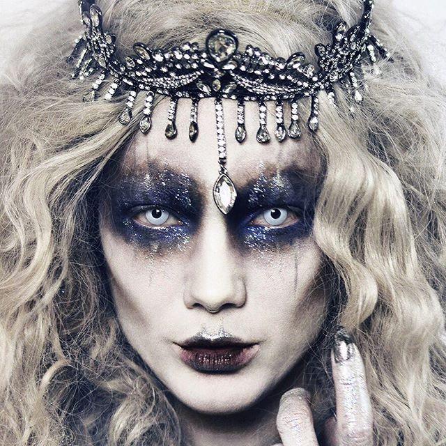 We salute you LInda Hallberg! Halloween GOALS in the Ursula Crown ...