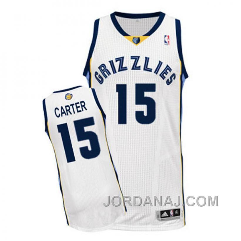 ... cheapest jordanaj vince carter nba memphis grizzlies 15 revolution 30  swingman home white jersey.html fe9b1ccbd
