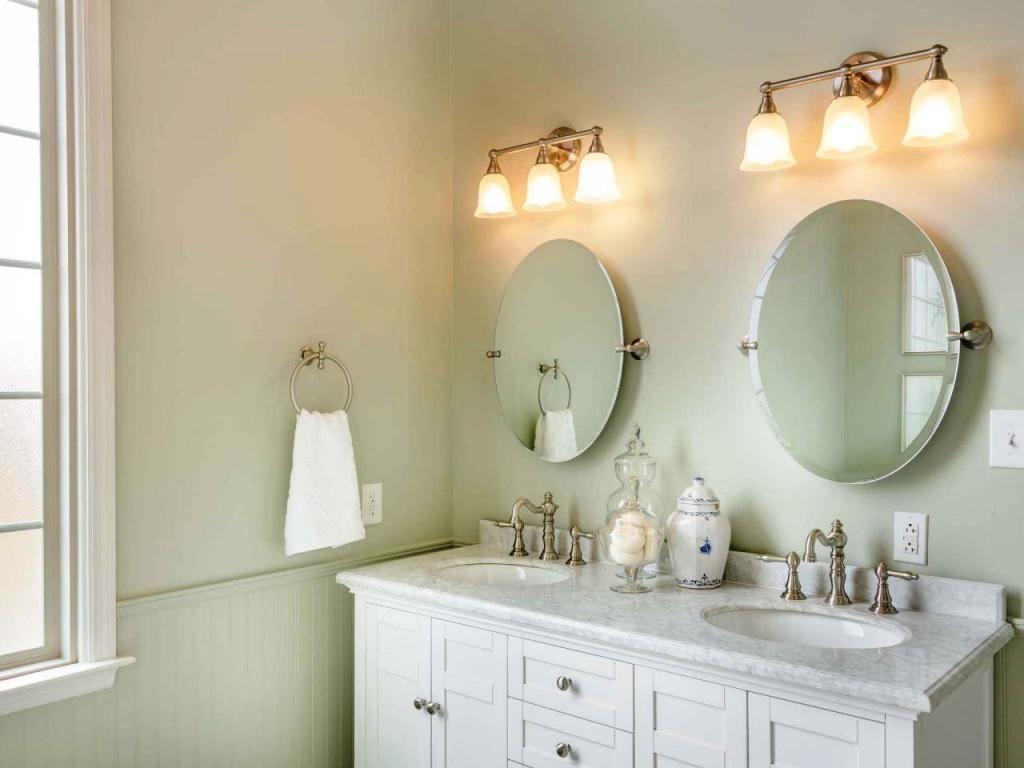 how to replace bathroom vanity light fixture