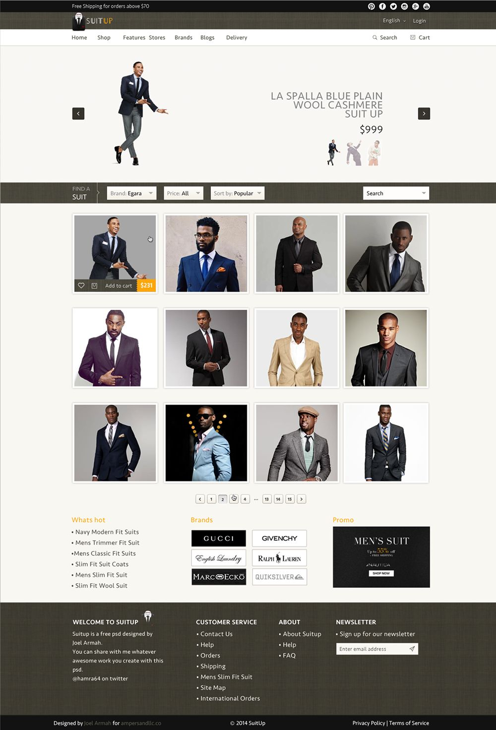 Pin By Css Author On Free E Commerce Template Psd Pinterest Free