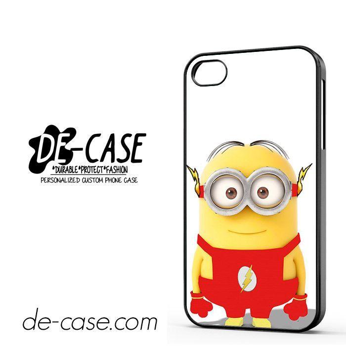 Flash Is Minion DEAL-4249 Apple Phonecase Cover For Iphone 4 / Iphone 4S