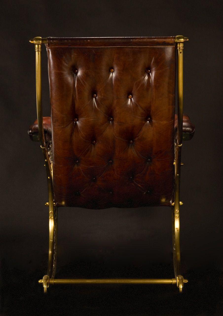 English mid 19th century.R.W Winfield Rocking Chair
