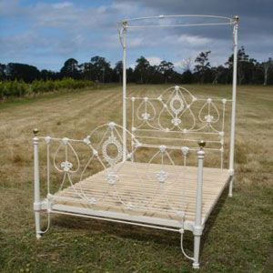 Antique Beds Restoration Including Iron Brass And Timber
