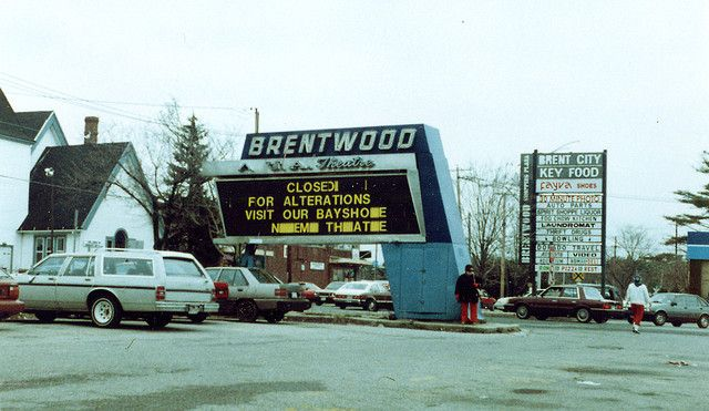Brentwood-Theater-Sign Favorite Places and Spaces Long island ny