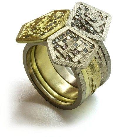 Stratus Stack Ring   Jo Hayes