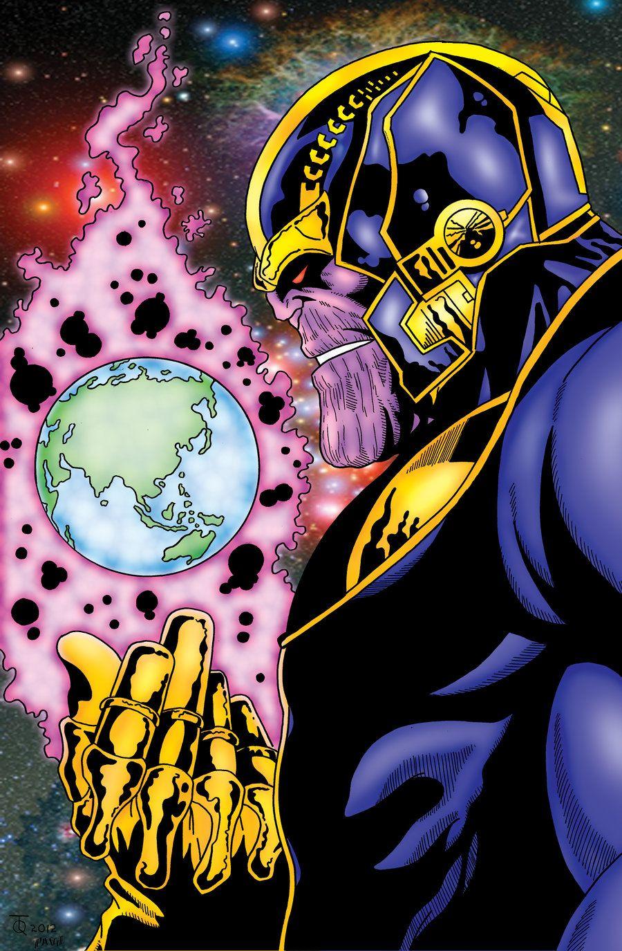 Thanos+The+Dark+Titan+by+pascal-verhoef.deviantart.com