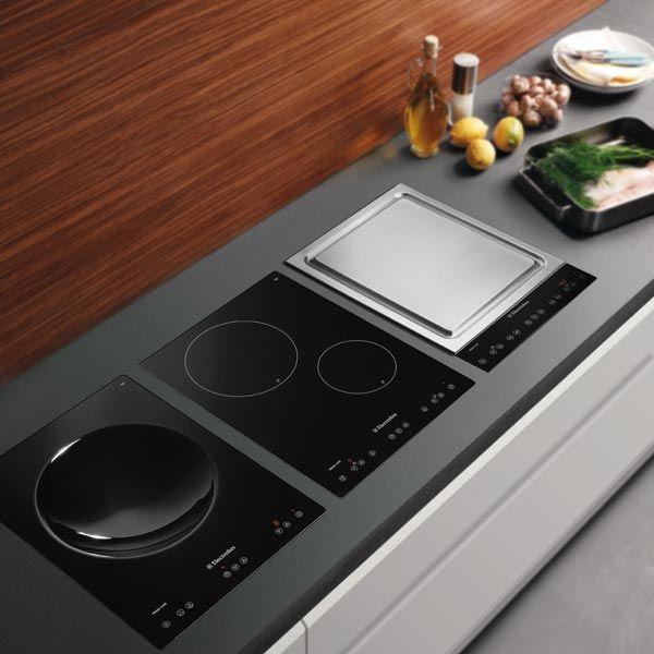 Piani cottura piano cottura wok 38 tcio di electrolux piani cottura pinterest cappe - Piani cottura design ...