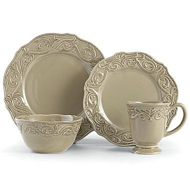 Chris Madden® Corvella 16-pc. Dinnerware Set - jcpenney | style ...