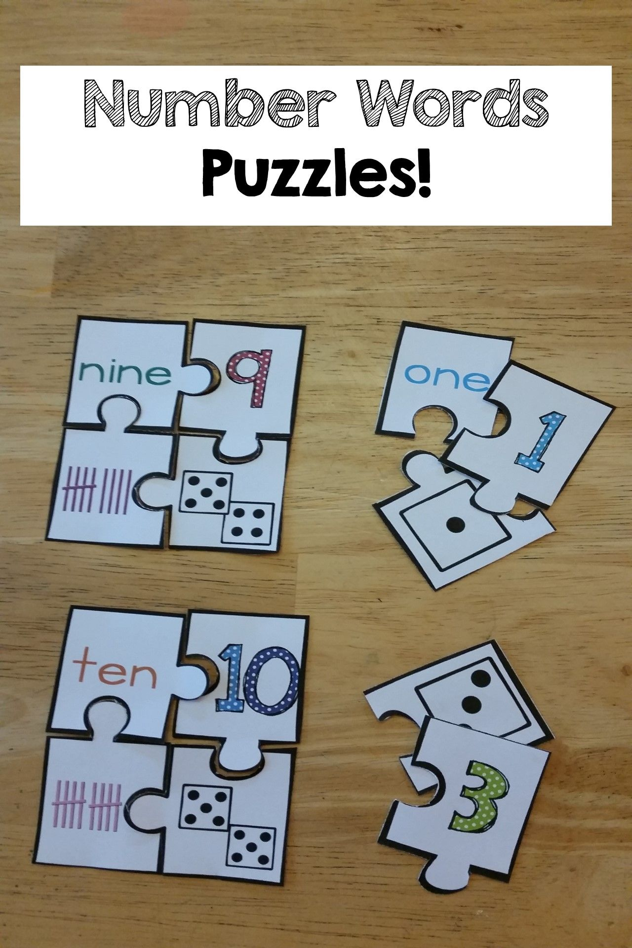 Number Words Number Sense Printables And Activities Numbers 0 10