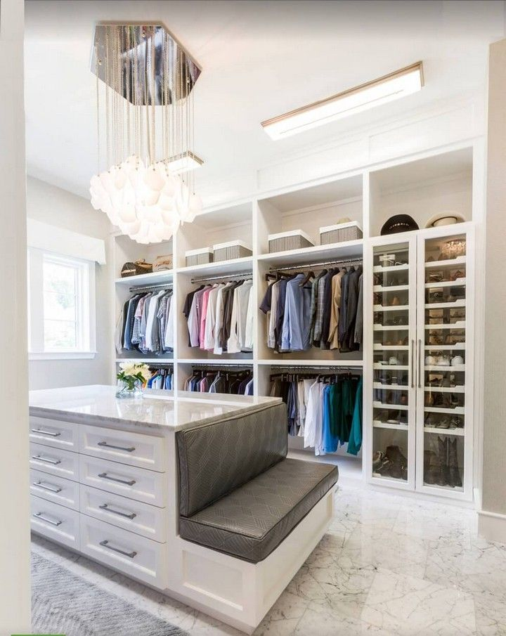 20 Walk In Closets You Might Want To Live Inside House Living Closet Island Walk In Closet Walk In Closet Design