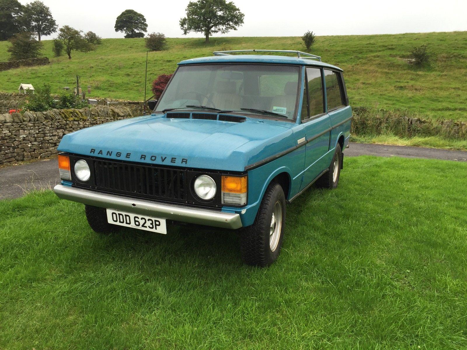 1976 Range Rover Classic 2 Door suffix D Heritage
