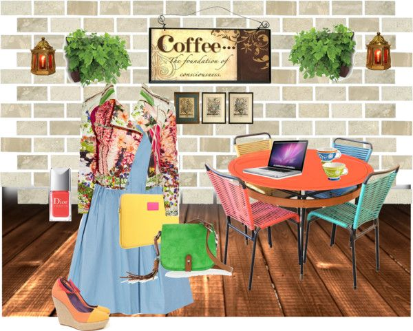 Worlwide Coffe, created by carlina9 on Polyvore