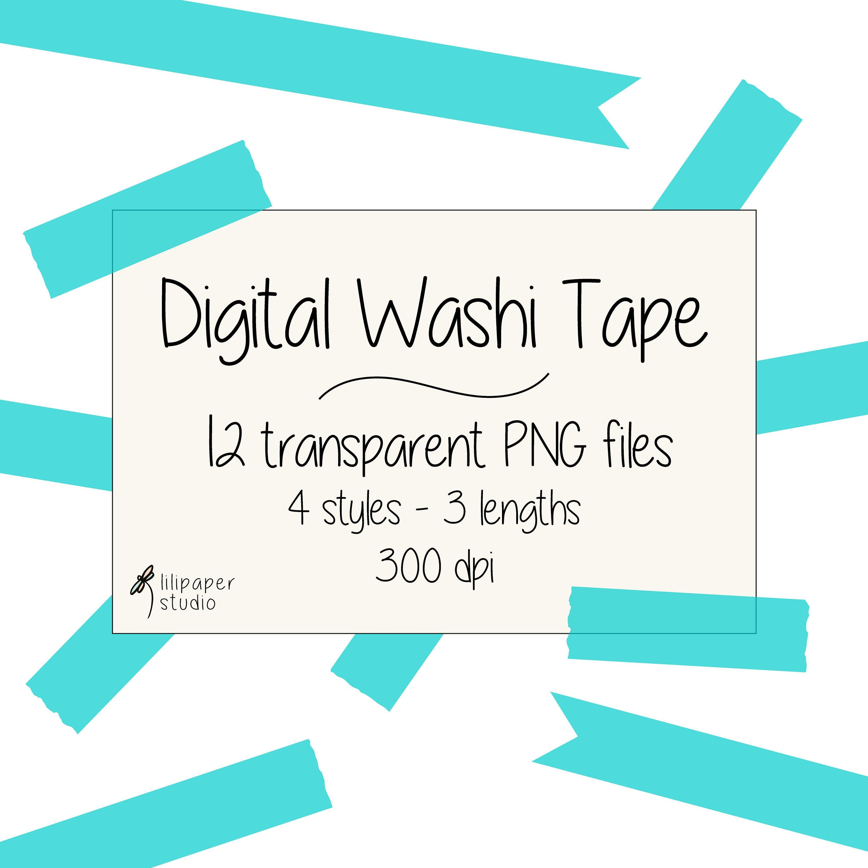 Sky Blue Washi Tape Cliparts 12 Transparent Png Files Blue Digital Washi Tape Digital Download Free Commercial Use 4 Styles 3 Lengths Washi Tape Washi Pink Scrapbook Paper