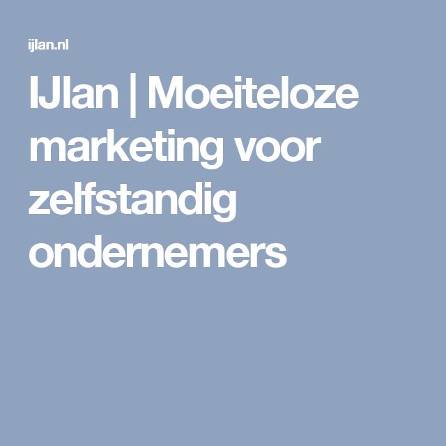 IJlan   Moeiteloze marketing voor zelfstandig ondernemers