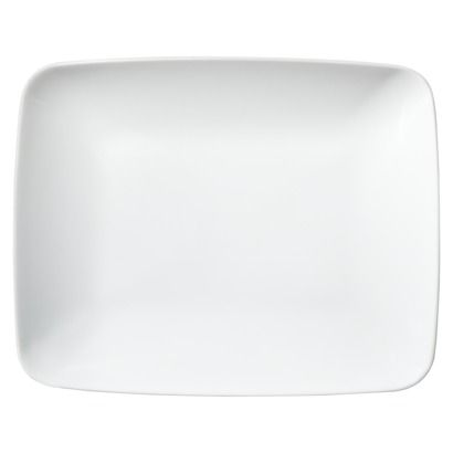 Love rectangular porcelain plates. I have a similar set now discontinued from CB. Dinner Plate SetsDinner ...  sc 1 st  Pinterest & Love rectangular porcelain plates. I have a similar set now ...
