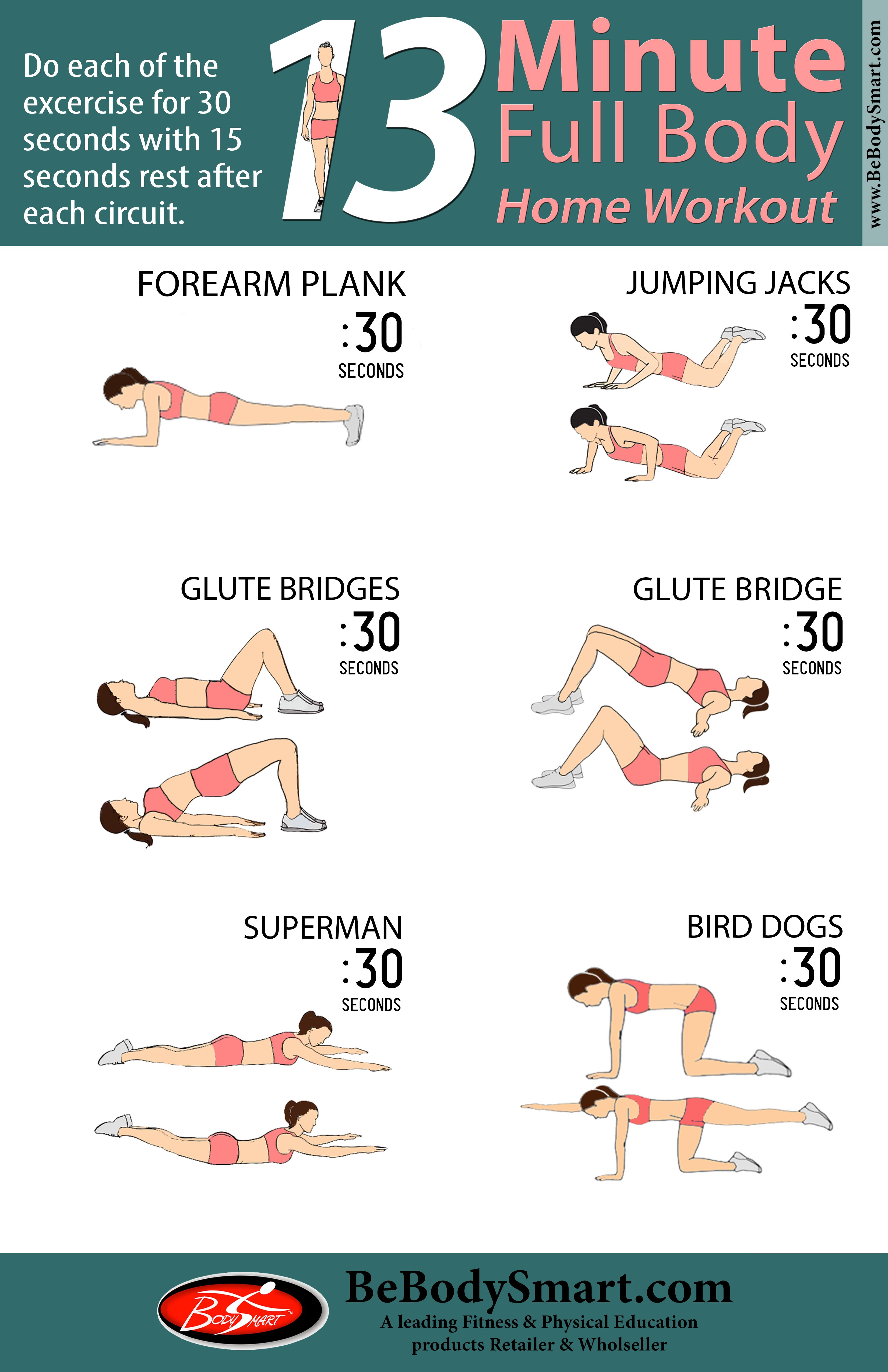 13 Minute Full Body Home Workout