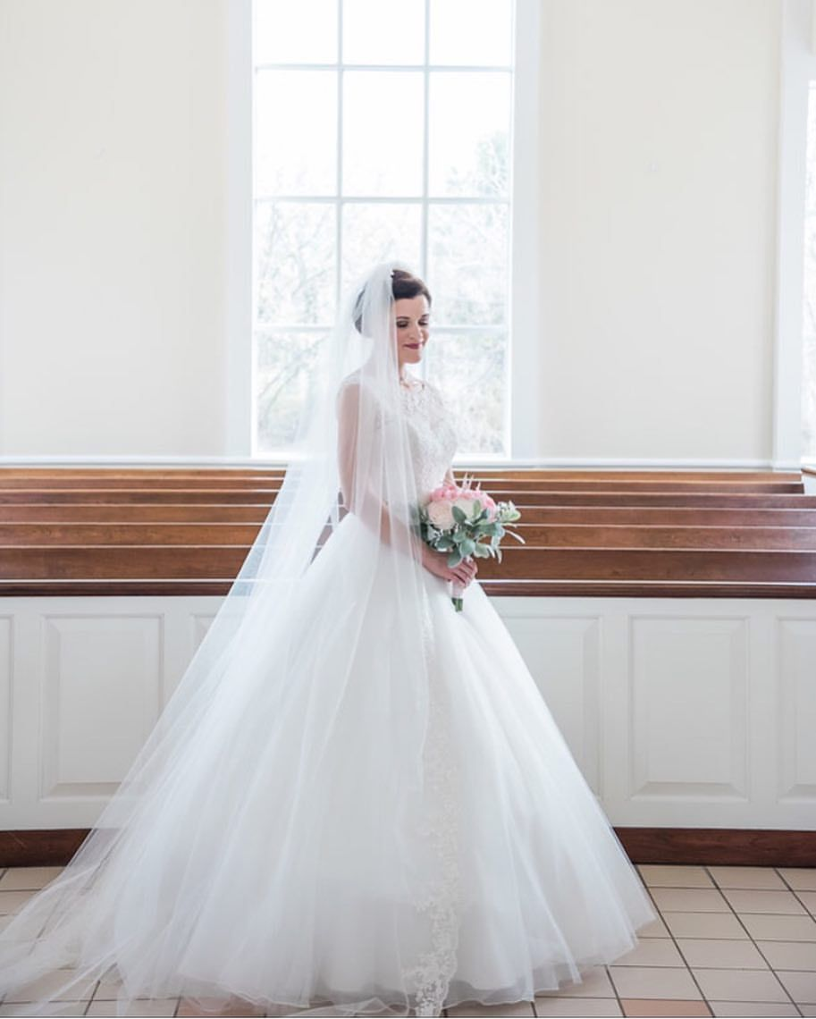 Amy's wedding dress  This beauty is up on our blog Amyus bridalsession took place at