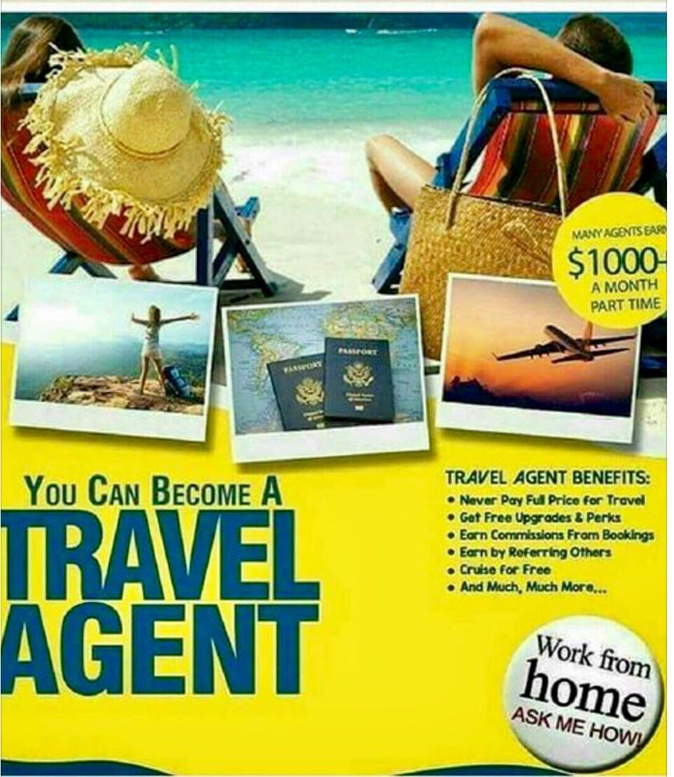 Be your own Boss a travel agent, Travel, leisure