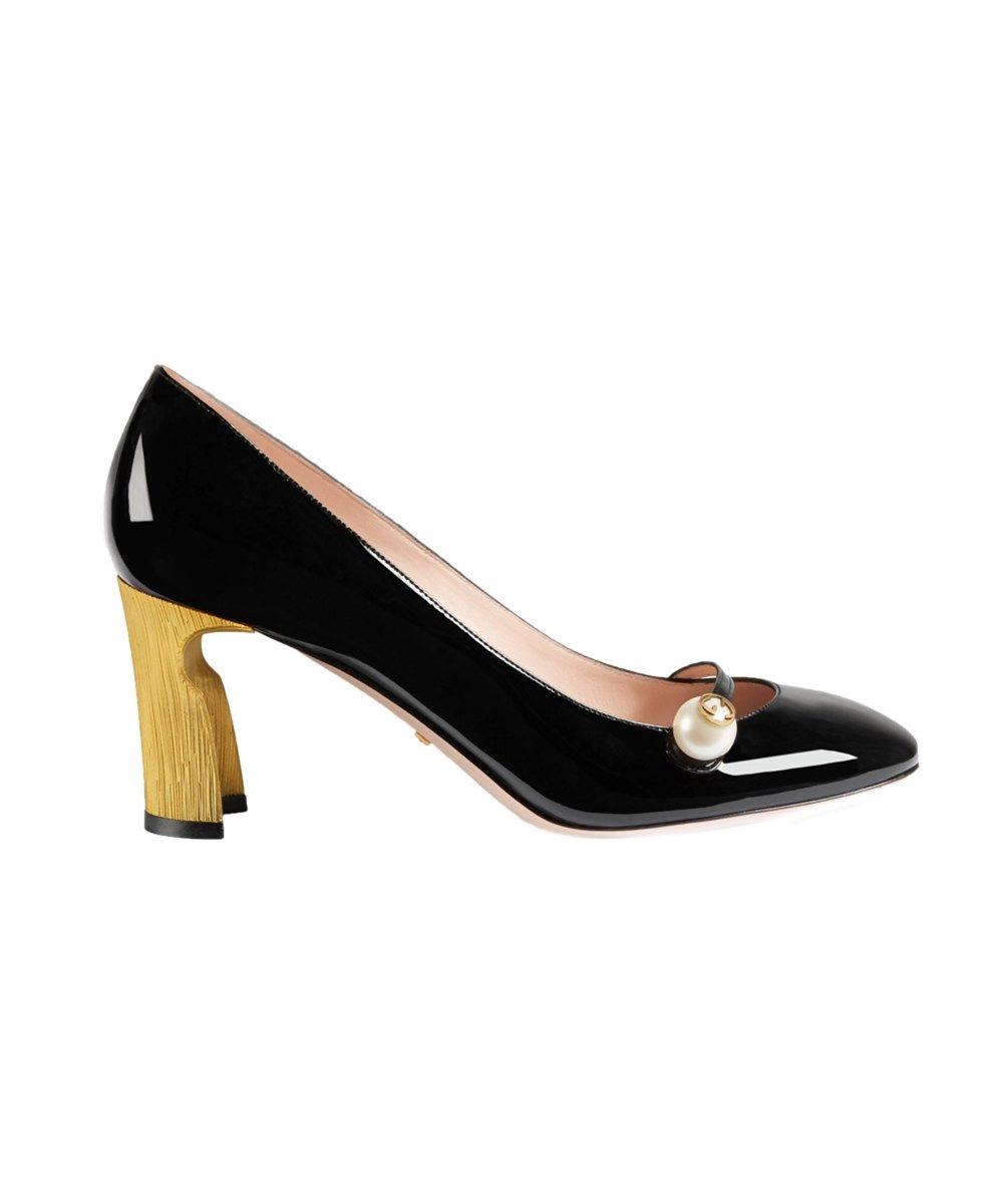 0e0836481aa GUCCI Gucci Women S Black Patent Leather Pumps .  gucci  shoes  pumps    high heels