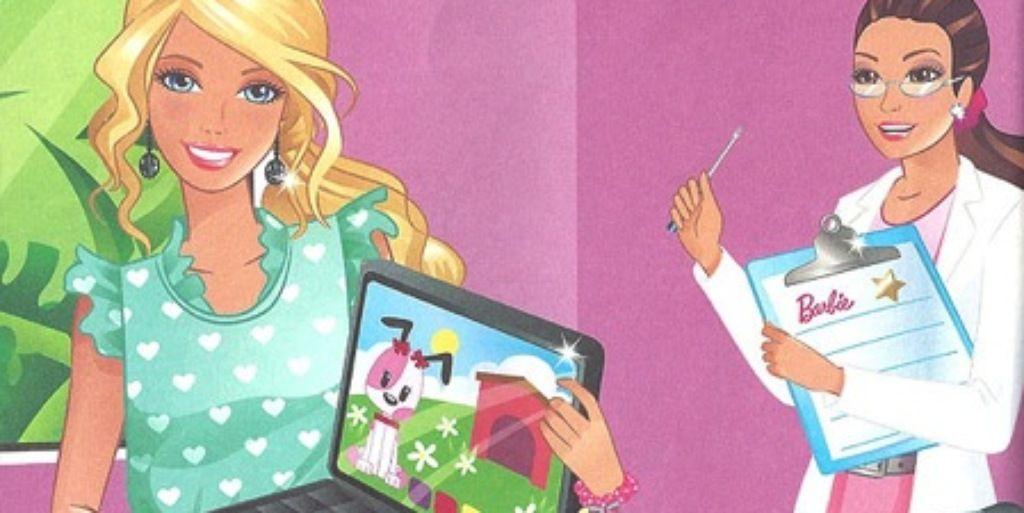 Barbie Computer Engineer Book
