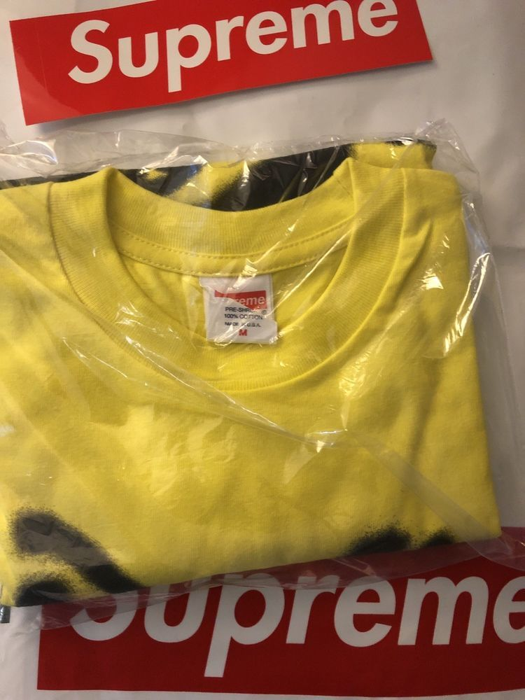 30240b6be355 Supreme Smile Tee Yellow Size M T-shirt #fashion #clothing #shoes  #accessories #mensclothing #shirts (ebay link)