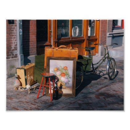 """Asian Bike 11"""" x 8.5"""" / 29.7x21 cm (A4) Poster - retro posters classy cool vintage"""