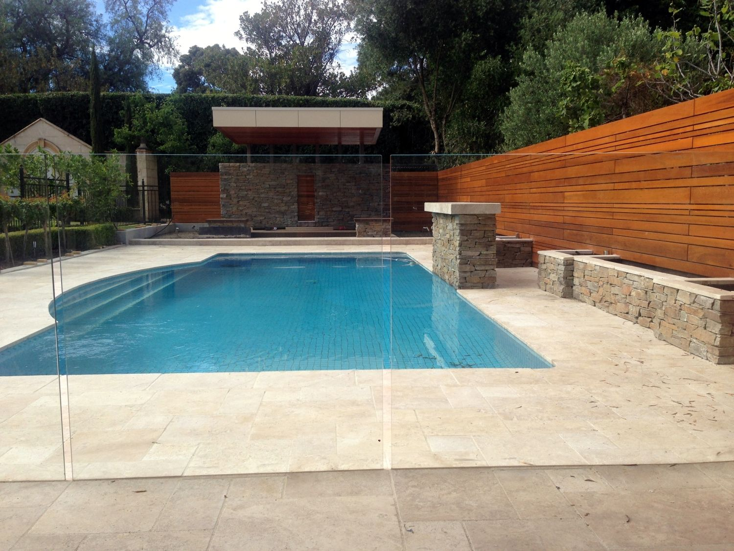 Perfect View Of The Pool With A Channel Set Frameless Glass Pool Fence Glass Pool Fencing Pool Fence Pool