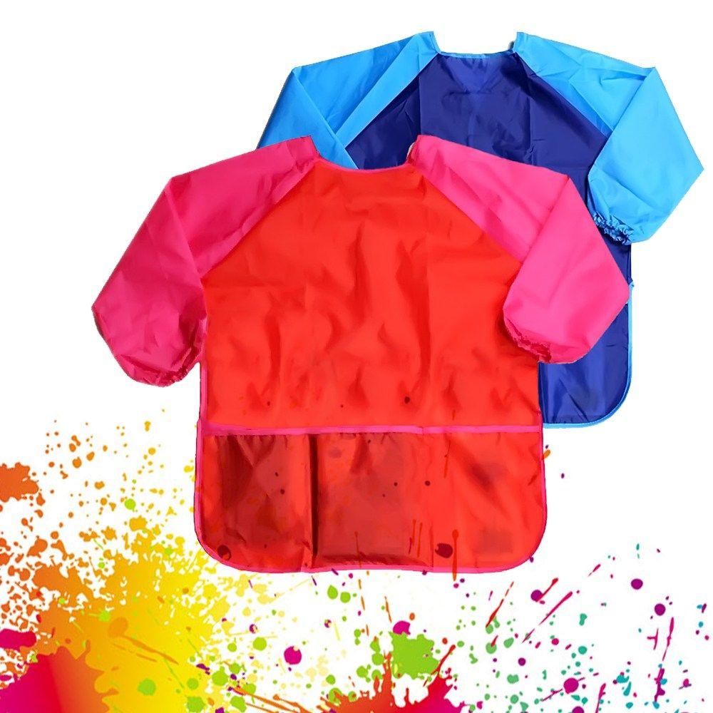 Children/'s Kids Painting Art Craft Cooking Play Apron Smock Bib
