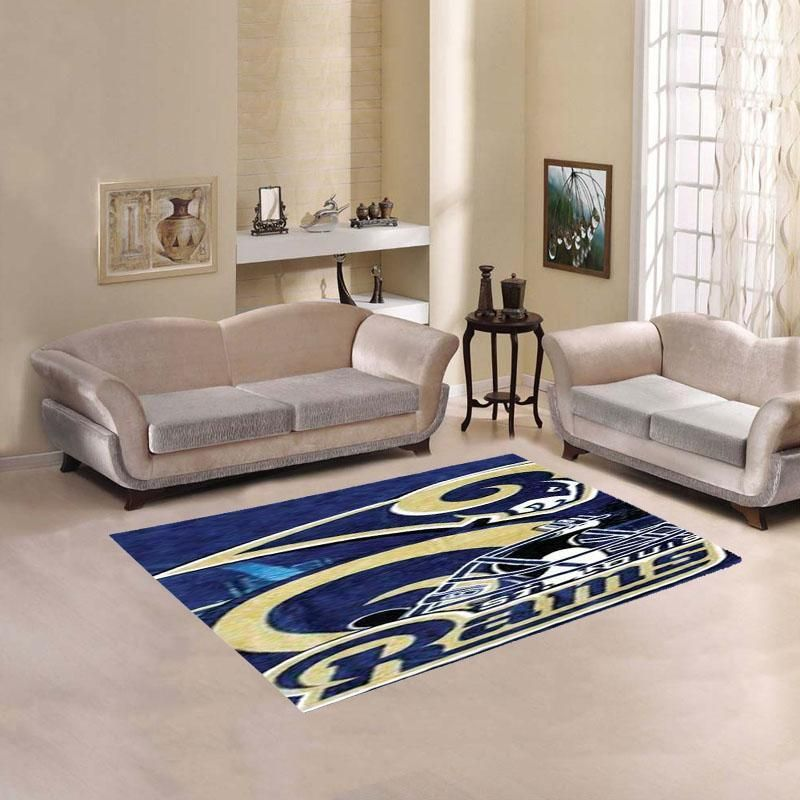 St Louis Rams Sketch Living Room Carpet Rug Products Pinterest