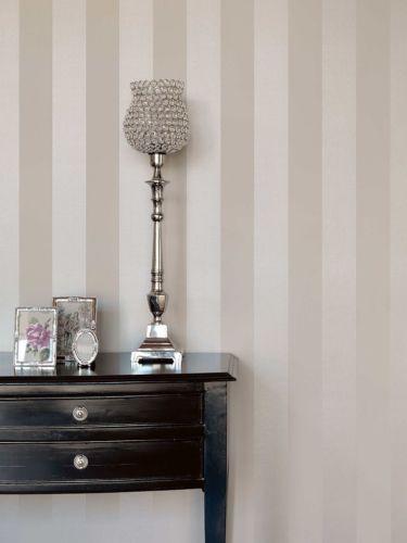rasch textil bistro tapete vlies block streifen creme. Black Bedroom Furniture Sets. Home Design Ideas