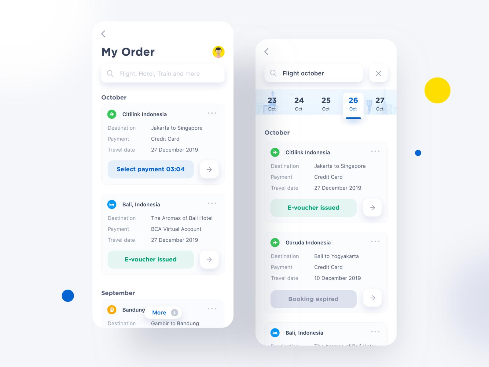 My Order App Exploration ⠿ App design, App, Design