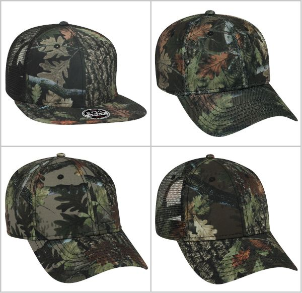 Otto Cap Camo Hat from NYFifth