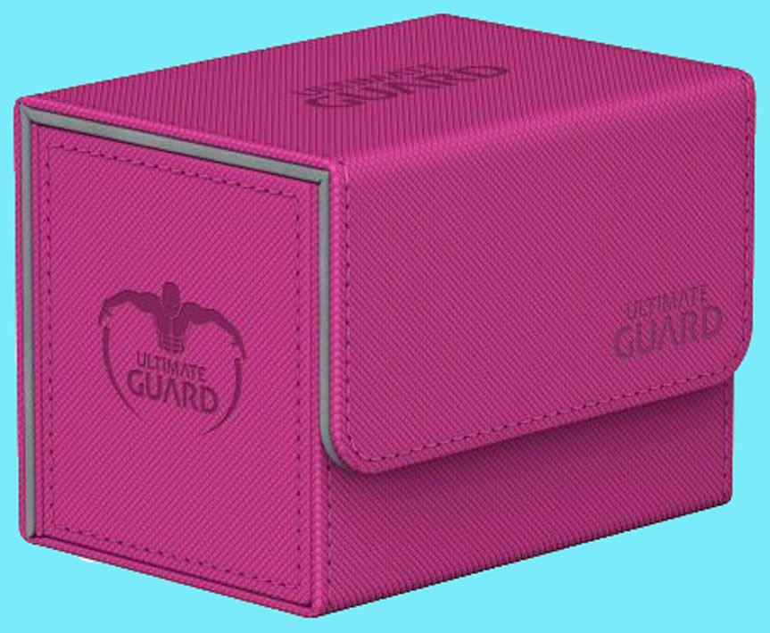 ULTIMATE GUARD XENOSKIN PINK SIDEWINDER 100 DECK CASE Side Loading Card Box MTG