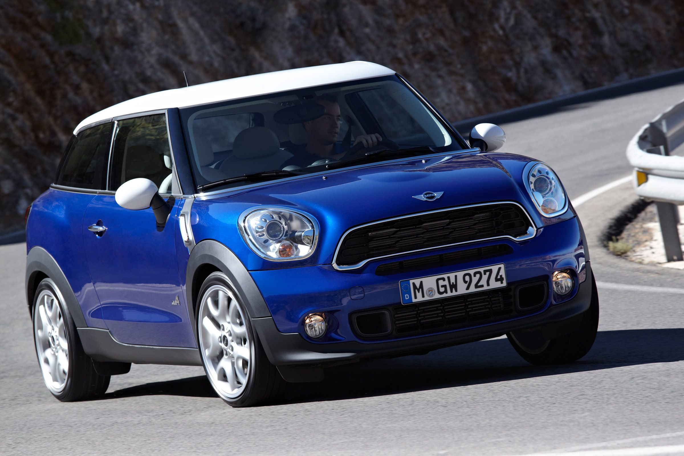 Mini Cooper Paceman Starlight Blue Metallic Mini Cooper Shades
