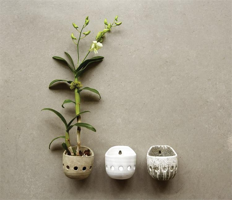 Round Wall Planter   Wall planter, Ceramic wall planters ...