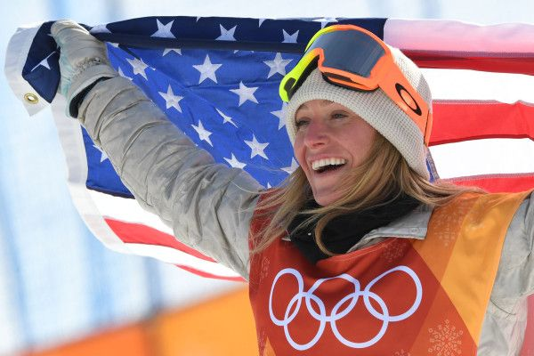 Snowboarder Jamie Anderson wins gold in women's slopestyle ...