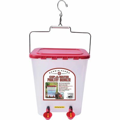 Harris Farms Cup O Water Poultry Drinker Farm Cups Chicken Waterer Poultry