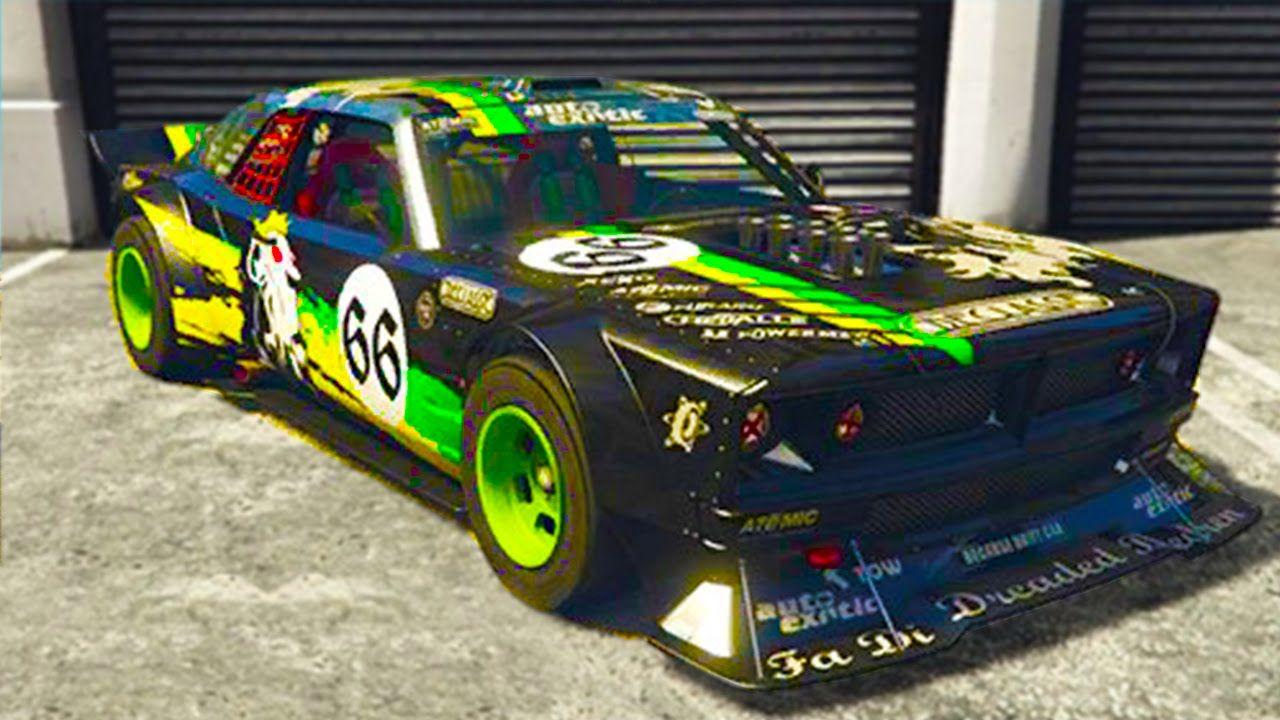 GTA 5 5 SECRET CARS IN THE CUNNING STUNTS DLC! Tampa