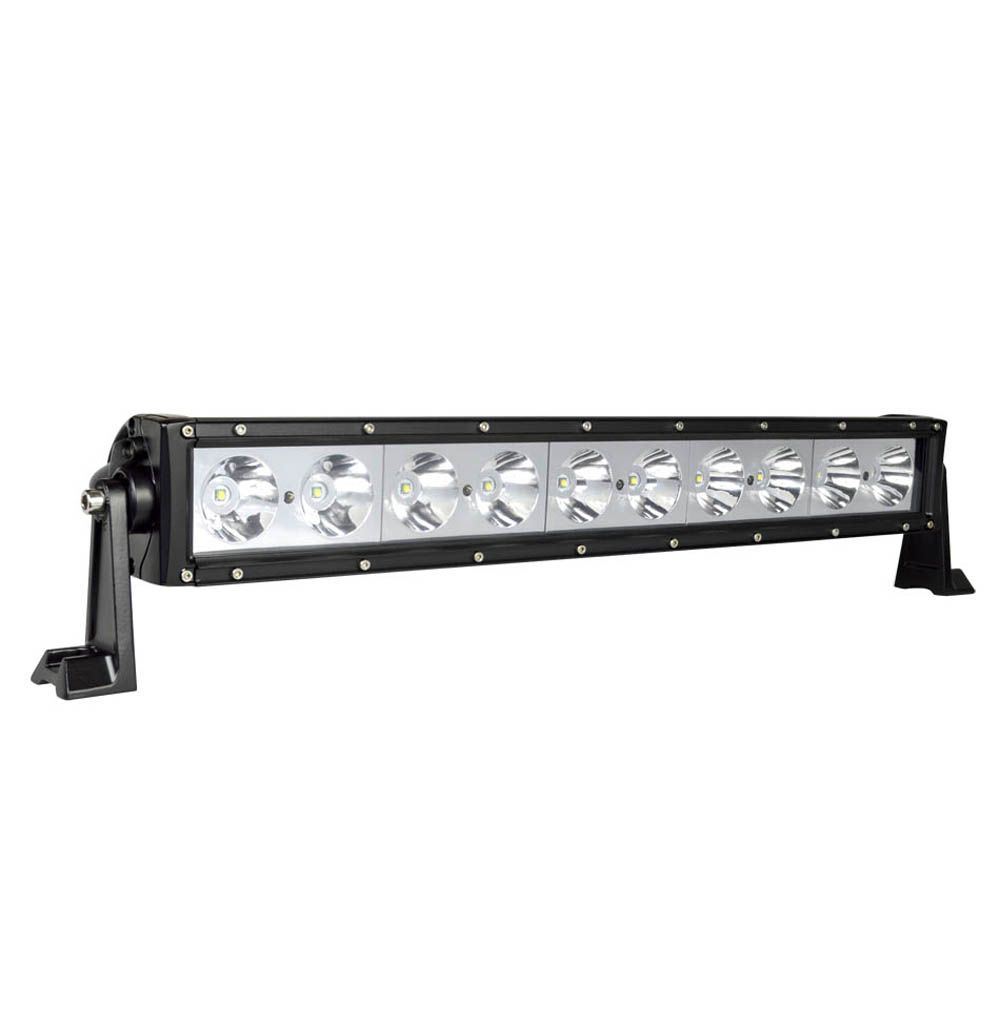 100w 21 5 Single Row Led Light Bar Size Led Light Bars Bar Lighting Led Lights
