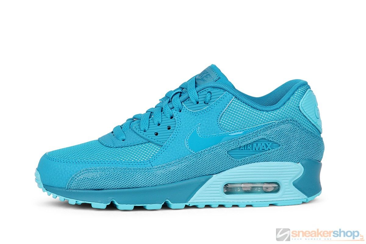 NIKE AIR MAX 90 PREMIUM Light Blue Lacquer/Clearwater