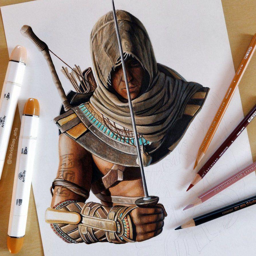 Bayek Of Siwa Assassin S Creed Origins Wip By Daviddiaspr